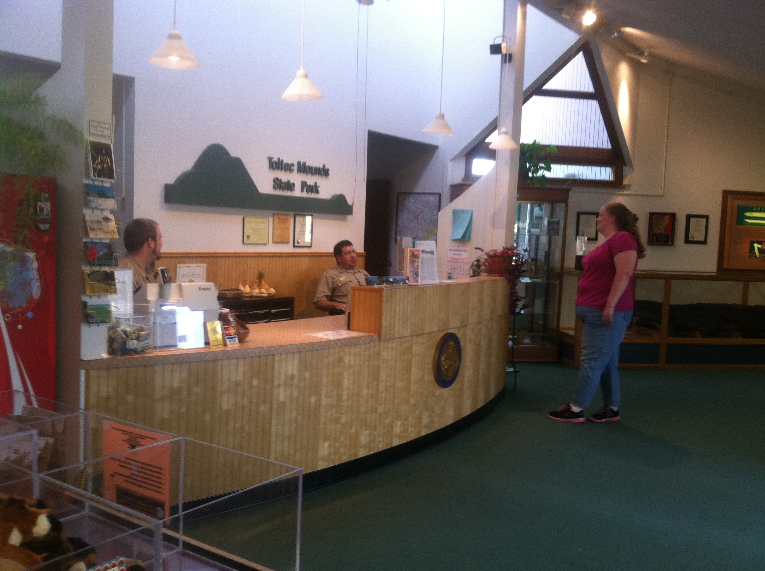 Toltec Mounds State Park Gift Shop