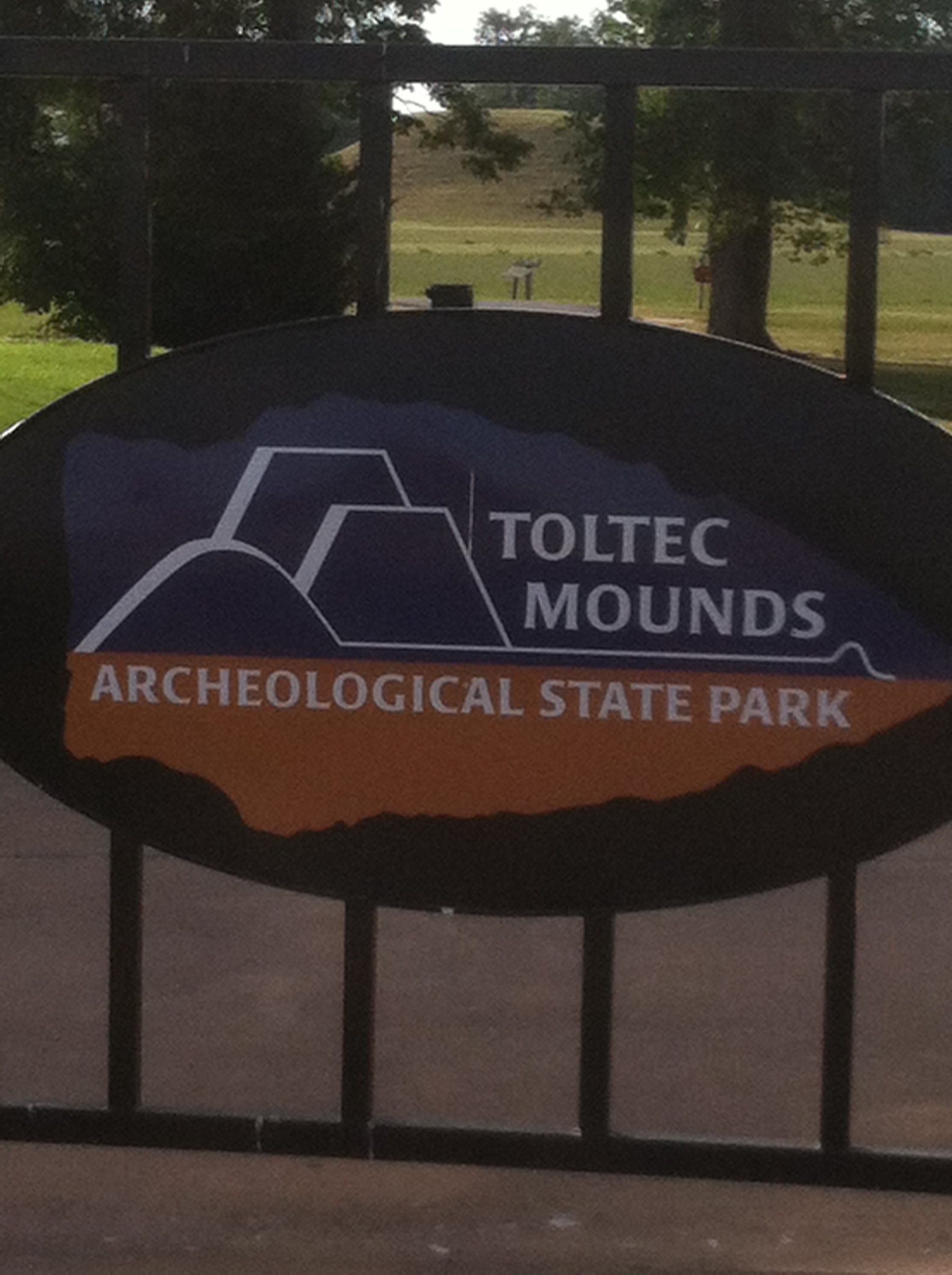 Toltec Mounds State Park
